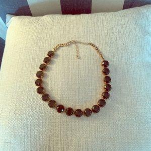 Costume Gold Diamond Necklace